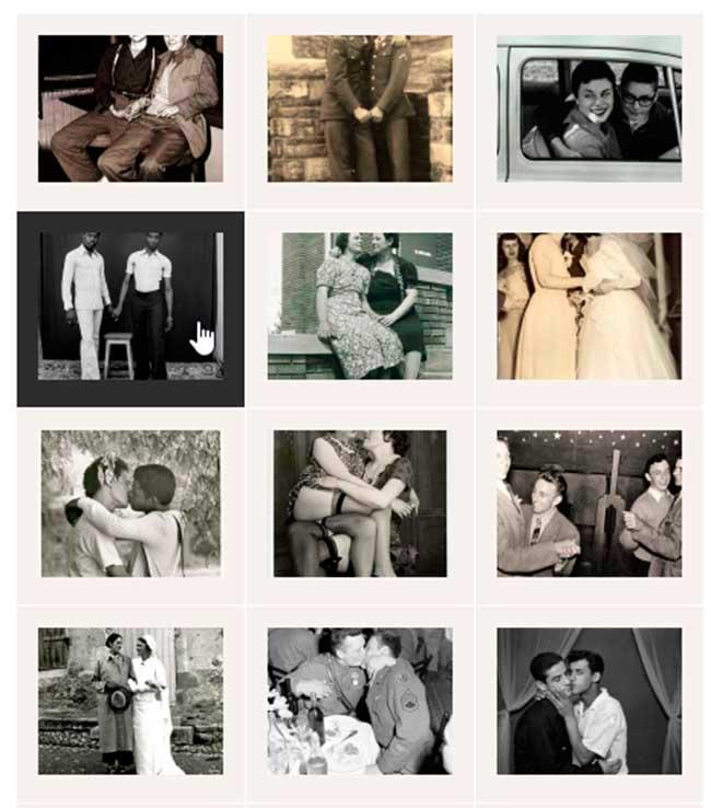 historiske billeder af homokærlighed