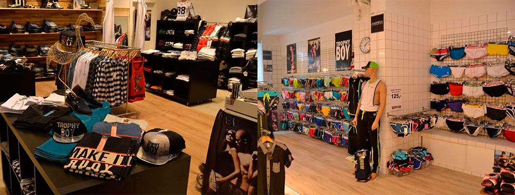 Butikkerne på Vesterbrogade.