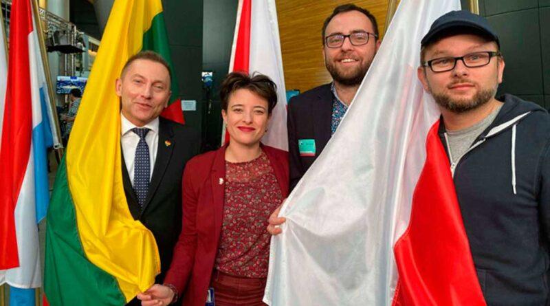 Polske aktivister i EU