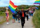 Pride parade i det lille øsamfund Træna
