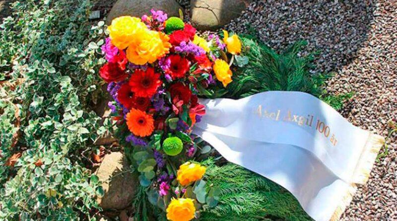 Axel Axgil mindet på sin 100 års dag