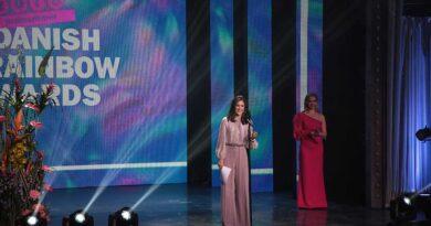 Hendes Kongelige Højhed Kronprinsesse Mary til Danish Rainbow Awards 2020