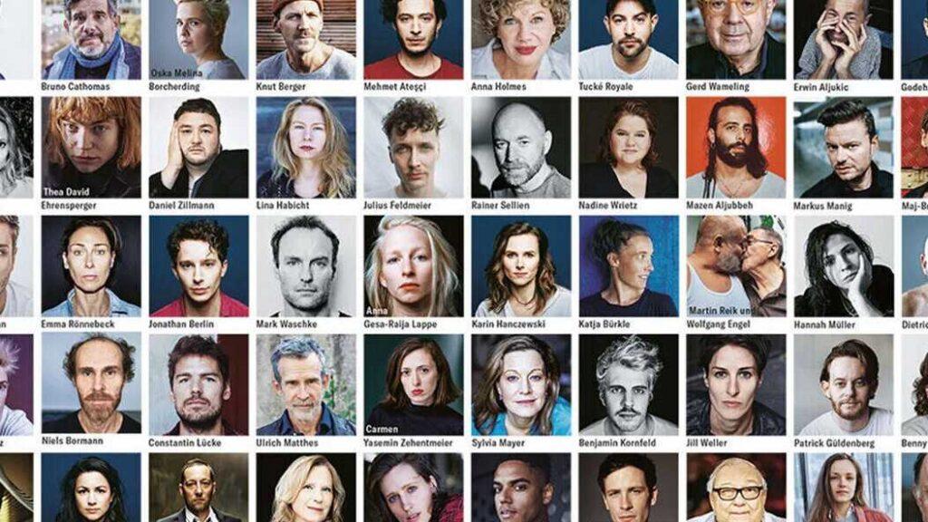 Knapt 200 tyske skuespillere springer ud på én gang