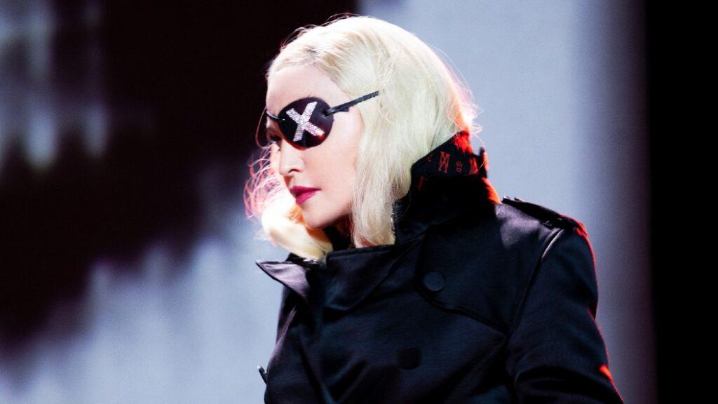 Madonna helt tæt på